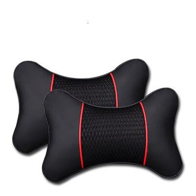 2 כריות תמיכה לצוואר במושב הרכב