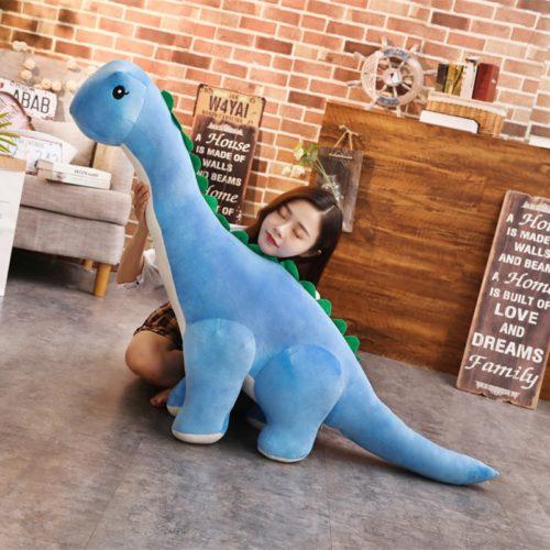 בובת דינוזאור גדולה ורכה לילדים