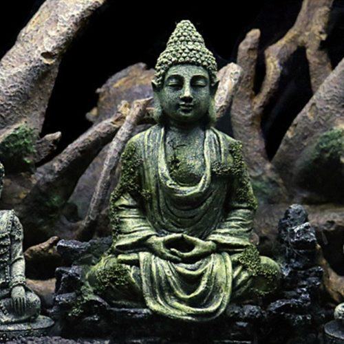 פסל בודהה לאקווריום