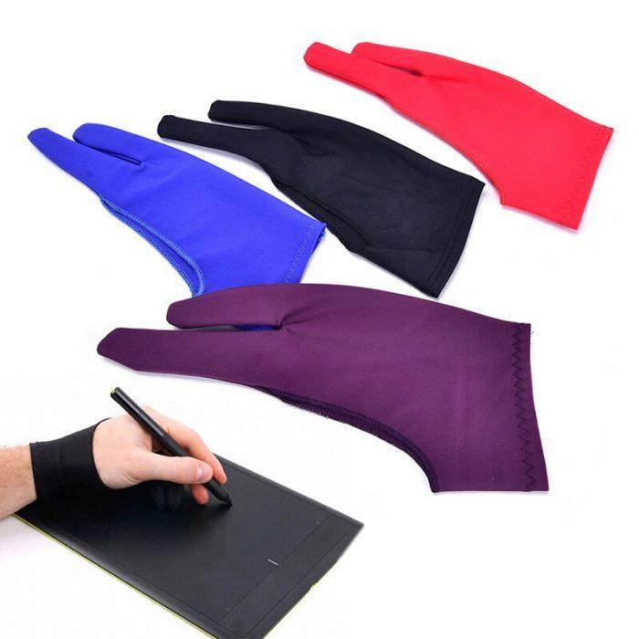 כפפה ל-2 אצבעות להגנה מלכלוך בעת כתיבה או ציור