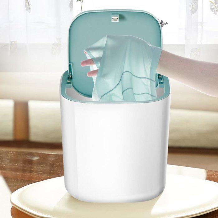 מיני מכונת כביסה ניידת הפועלת באמצעות כבל USB