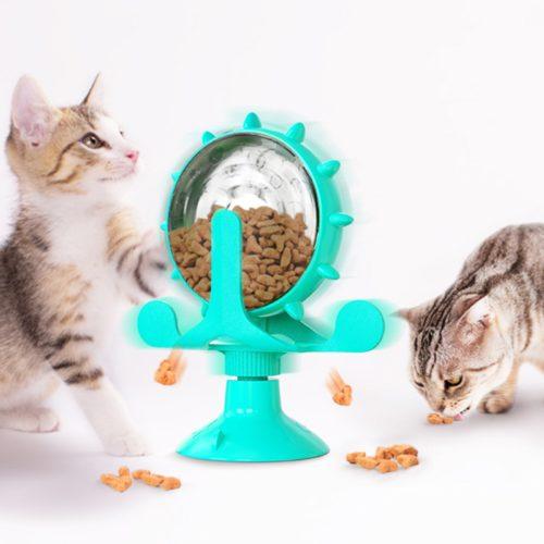 צעצוע גלגל האכלה לכלבים וחתולים