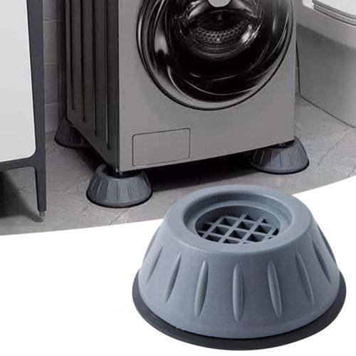 4 רגליים אוניברסליות למכונת כביסה למניעת רעשים ותזוזה