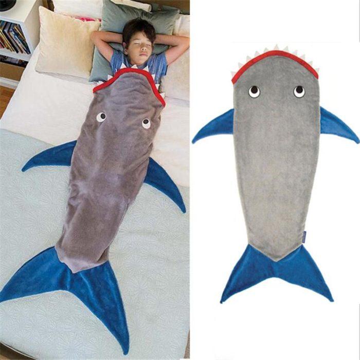 שמיכת כריש לילדים