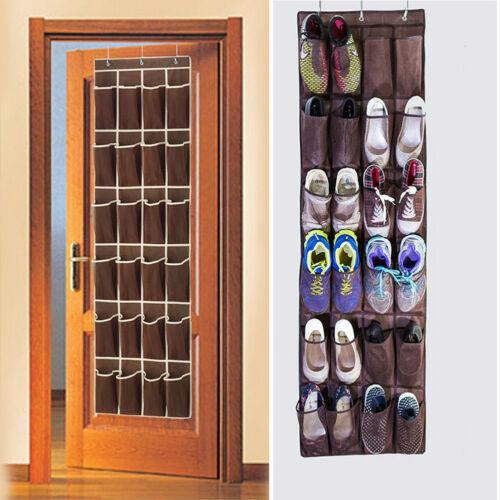 ארגונית נעליים נתלית על הדלת ל-12 זוגות