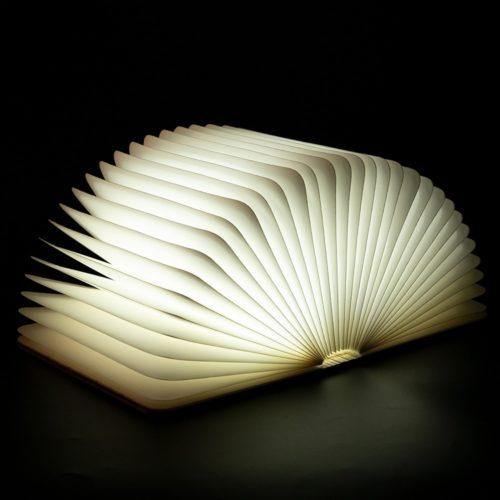 מנורת לד USB נטענת בצורת ספר