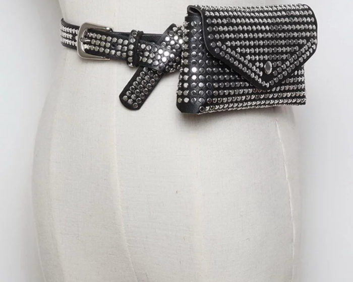 חגורת פאוץ' מעוצבת לנשים