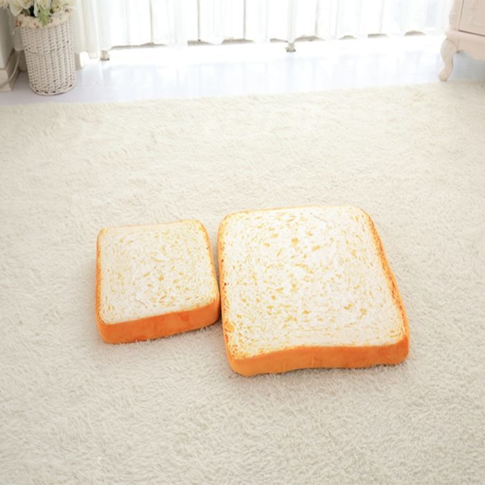 כרית בצורת פרוסת לחם