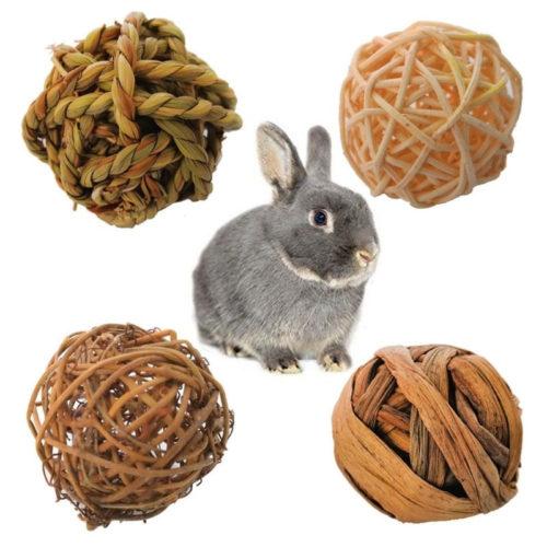 כדורי לעיסה טבעיים מערבה לארנבים (4 יח')