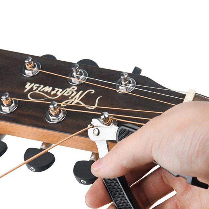 מנואלה לגיטרה עם קאטר להחלפת מיתרים