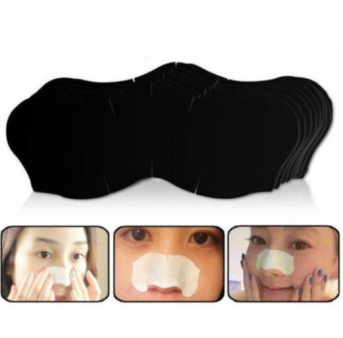 50 מדבקות להסרת שחורים מהאף