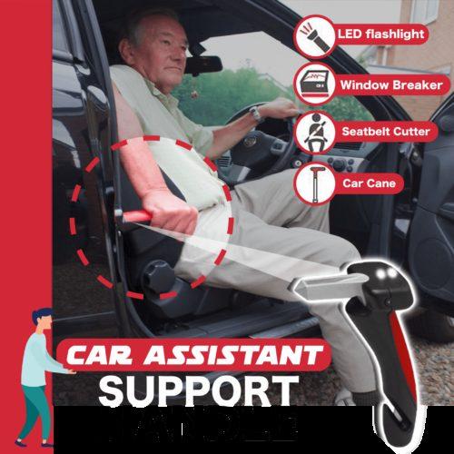 ידית עזר רב שימושית לכניסה ויציאה מהרכב בקלות